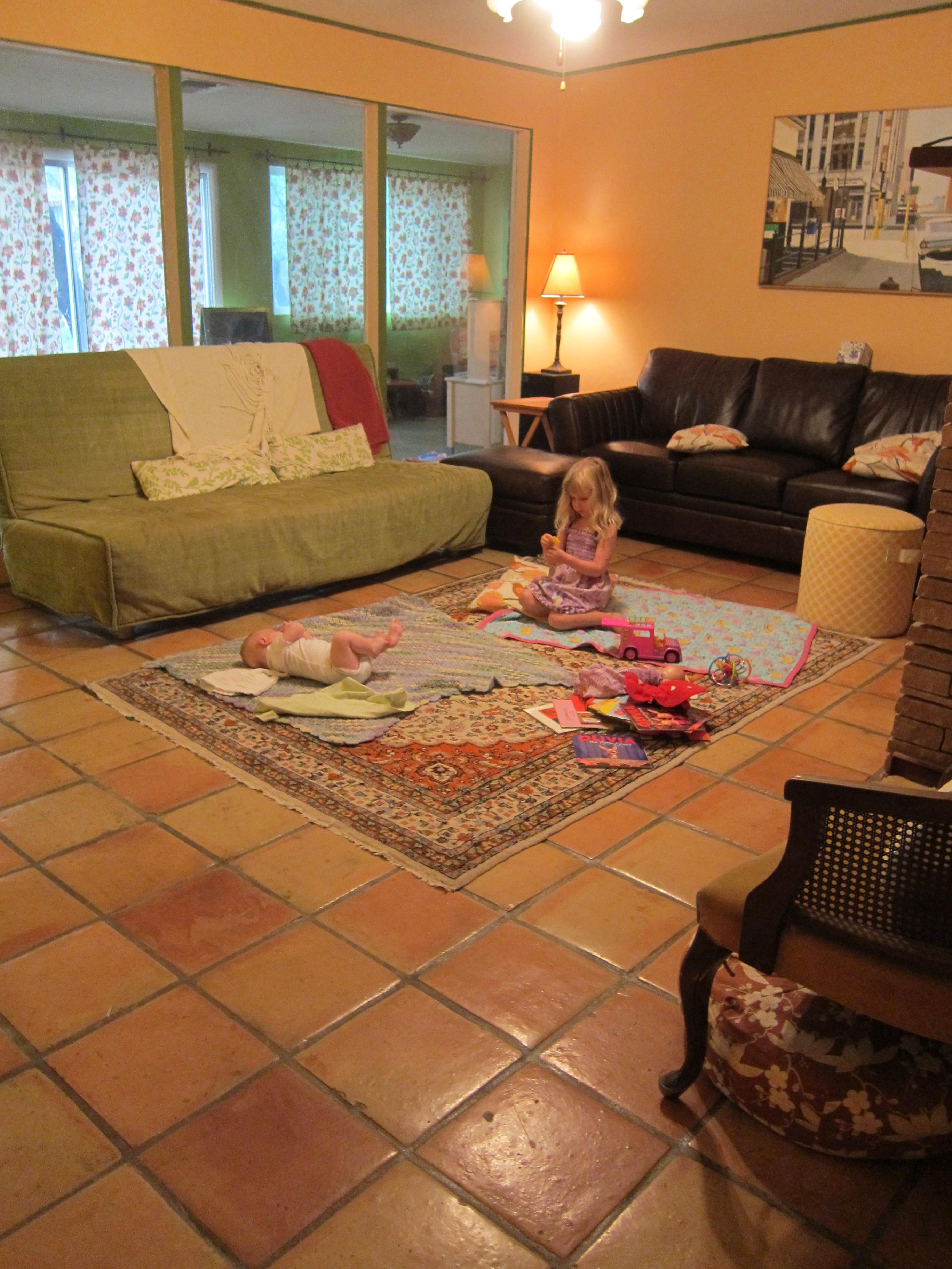 No Furniture Living Room Living Room Redo Again Desert Homespun