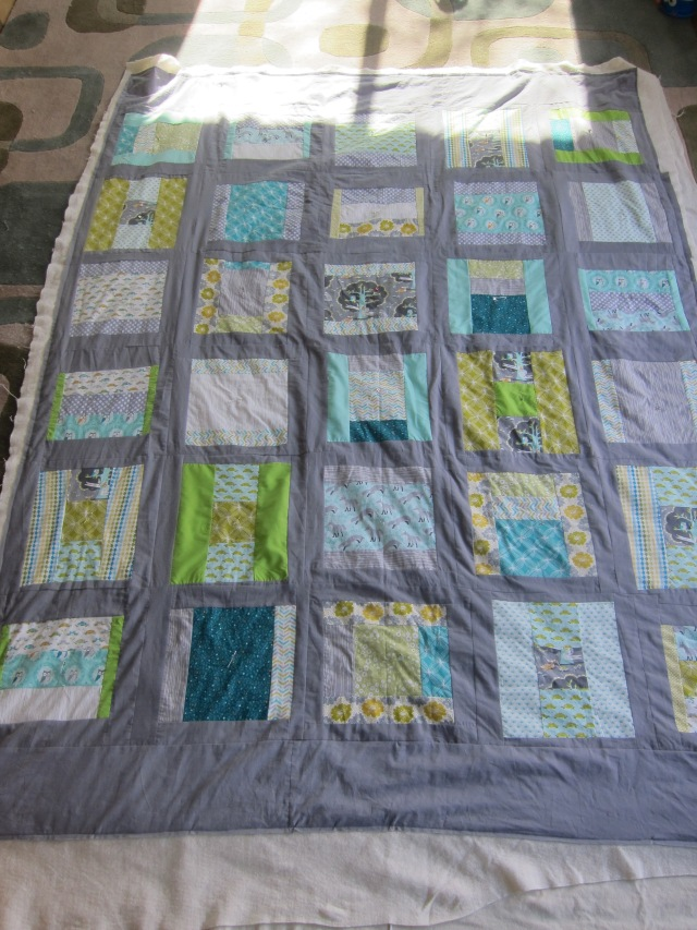 pre-quilting