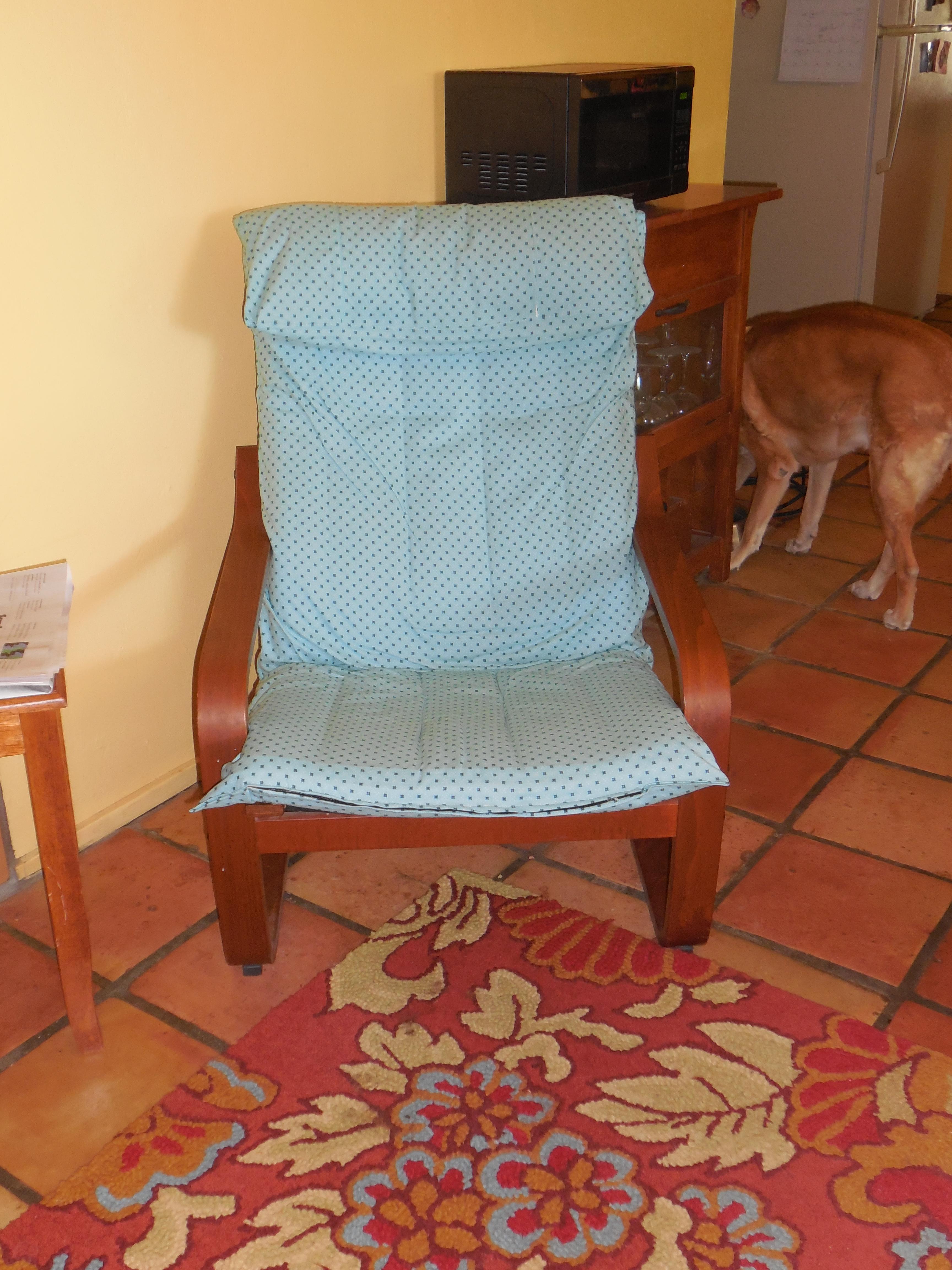 Gumtree Ikea Drawers London ~ Ikea Poang Chair Slipcover – Desert Homespun