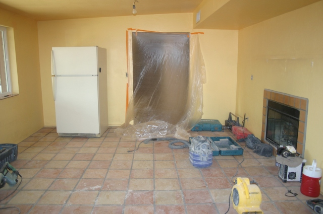 Looking towards the dining room